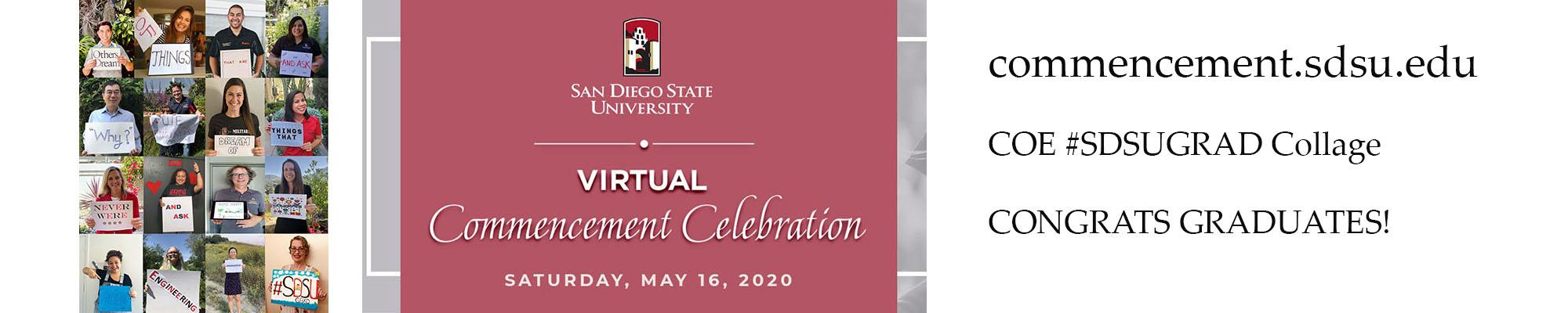 SDSU Virtual Commencement